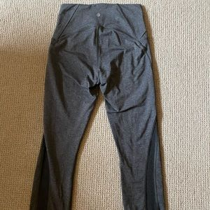 Lululemon Cropped Grey Leggings